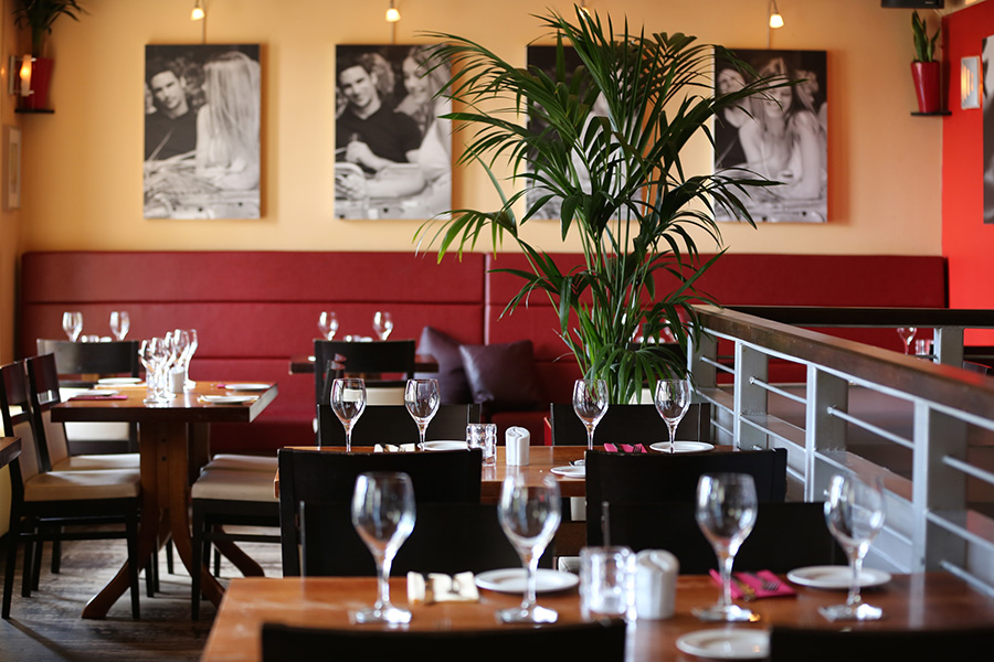 107 Dining Room   Inside. 107 Dining Room   One of the finest restaurants in Heswall on the
