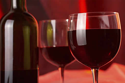 107 dining room wine